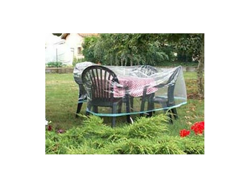 Housse table ronde conomique - Housse de protection salon de jardin ...